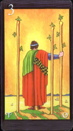 Image result for three of wands tarot